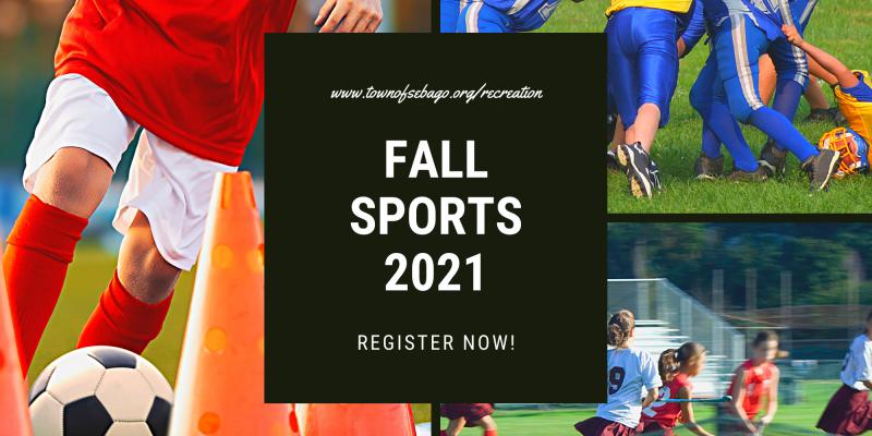 Fall Sports Registrations Open!!